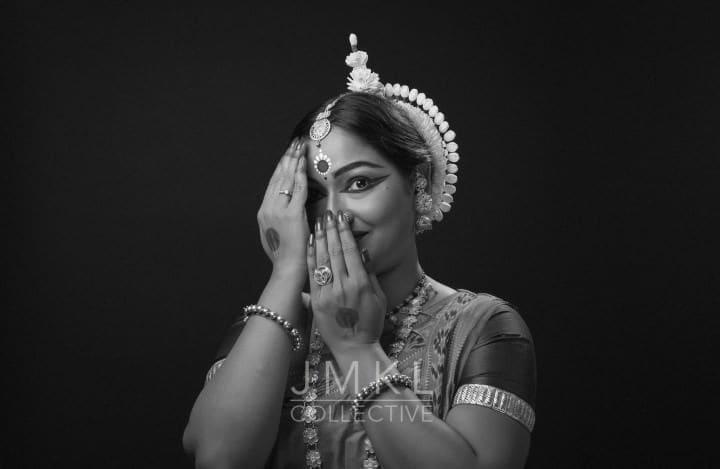 Janhabi Behera #1 - B&W | arangetram.me - photography by John Merrell