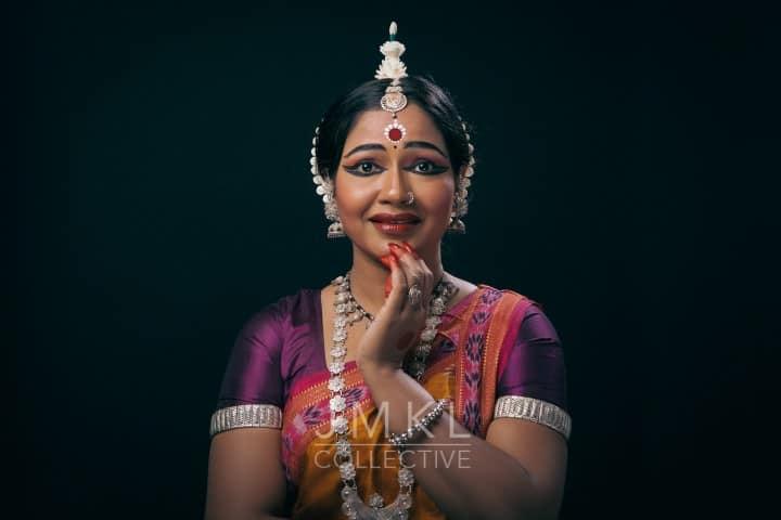 Janhabi Behera Odissi Portrait #4 | arangetram.me - photography by John Merrell