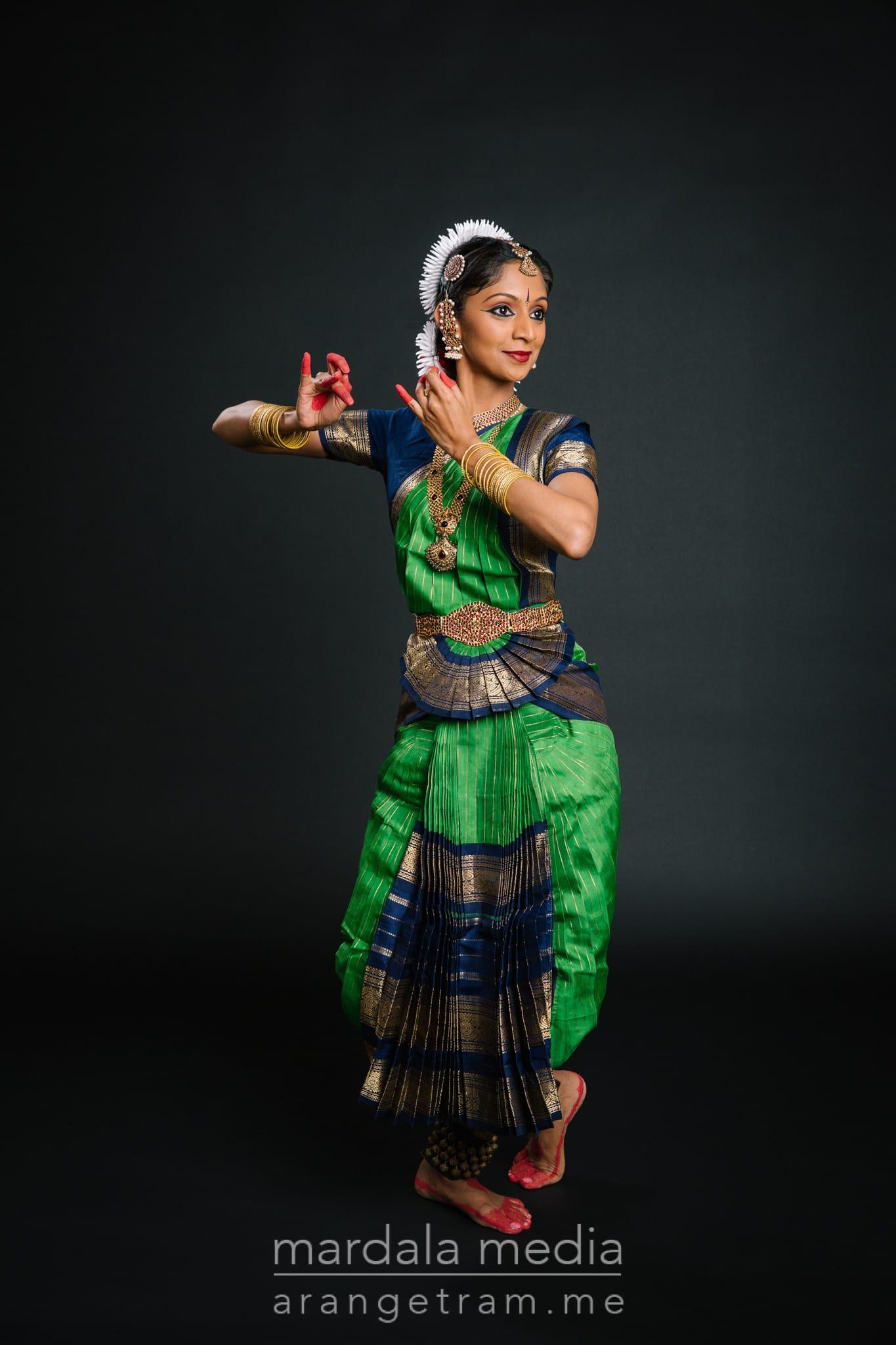 Swetha Ashwin Bharatnatyam Photoshoot | Arangetram ...
